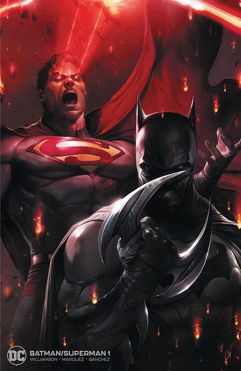BATMAN SUPERMAN #1 MATTINA EXCLUSIVE VARIANT