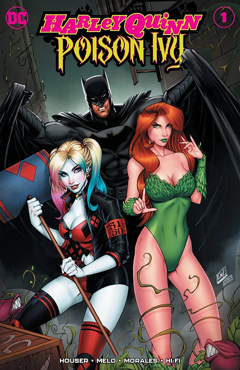 HARLEY QUINN & POISON IVY #1 RYAN KINCAID VARIANT LIMITED TO 3000
