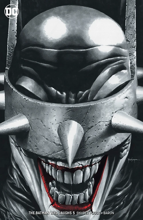 BATMAN WHO LAUGHS #5 (OF 6) MICO SUAYAN EXCLUSIVE REMARK VARIANT