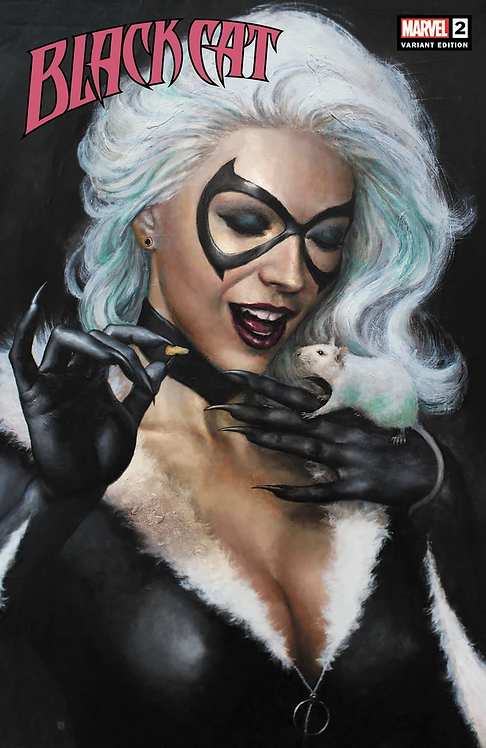 BLACK CAT #2 MIKE CHOI EXCLUSIVE VARIANT
