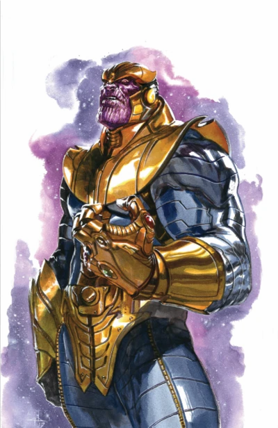 THANOS LEGACY #1 DELL'OTTO NYCC EXCLUSIVE VIRGIN VARIANT
