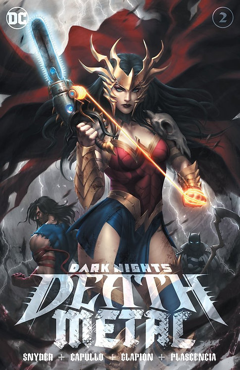 DARK NIGHTS: DEATH METAL #2 KUNKKA (07/15/2020) COVER A - LIMITED TO 3000