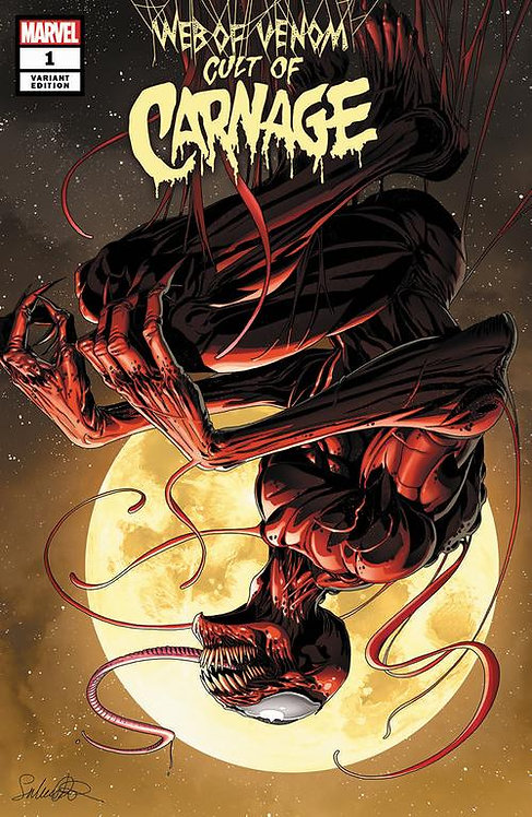 WEB OF VENOM CULT OF CARNAGE #1 LARROCA EXCLUSIVE VARIANT