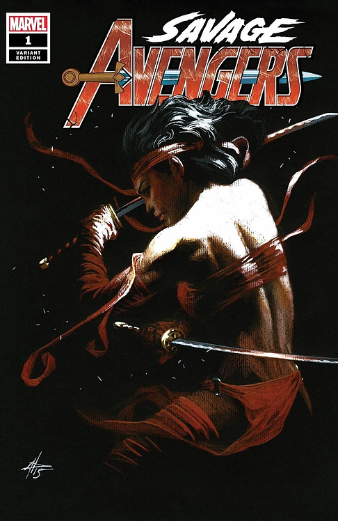 SAVAGE AVENGERS #1 DELL'OTTO EXCLUSIVE VARIANT LIMITED TO 3000