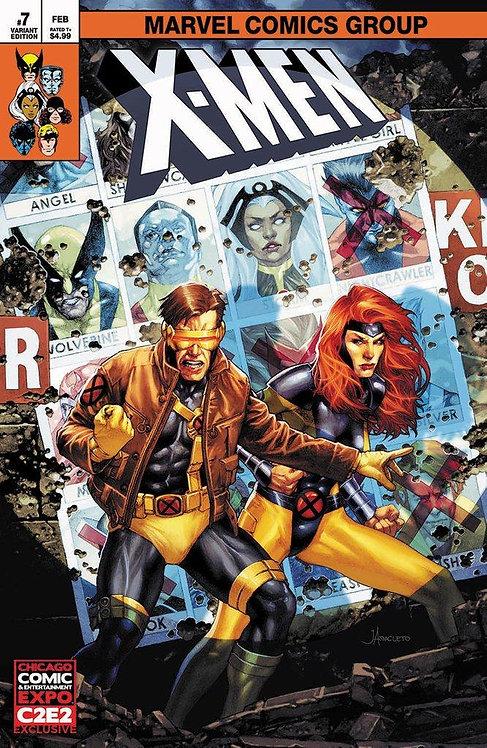 X-MEN #7 JAY ANACLETO C2E2 EXCLUSIVE VARIANT