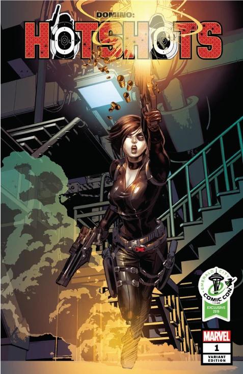 DOMINO: HOTSHOTS #1 DAVID BALDEON ECCC EXCLUSIVE VARIANT