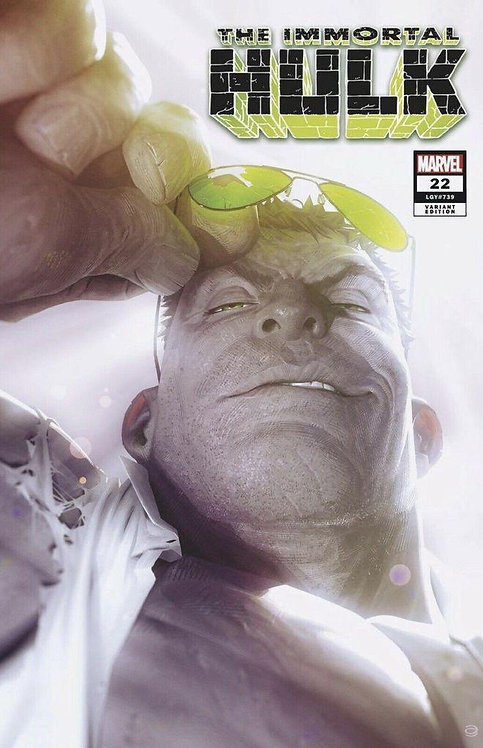 IMMORTAL HULK #22 ALEX GARNER EXCLUSIVE VARIANT