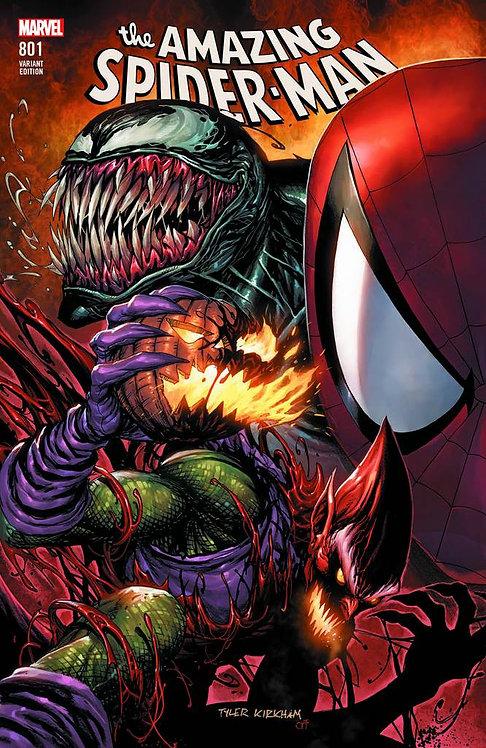 AMAZING SPIDER-MAN #801 TYLER KIRKHAM VARIANT
