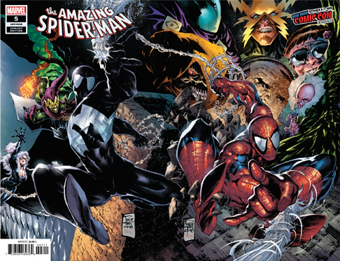 AMAZING SPIDER-MAN #5 PHILIP TAN NYCC EXCLUSIVE WRAP VARIANT
