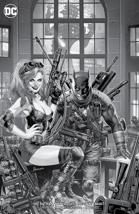 BATMAN WHO LAUGHS: THE GRIM KNIGHT #1 JAY ANACLETO MTD VARIANT