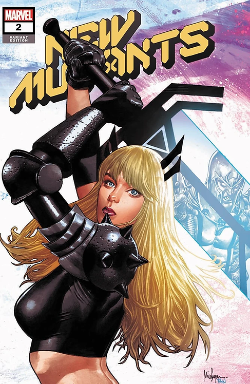 NEW MUTANTS #2 MICO SAUYAN EXCLUSIVE VARIANT