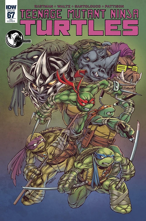 TMNT #67 MAT NASTOS EXCLUSIVE VARIANT ( ONGOING )
