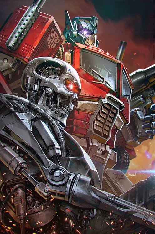 TRANSFORMERS VS TERMINATOR #1 KAEL NGU CONVENTION EXCLUSIVE LIMITED TO 600