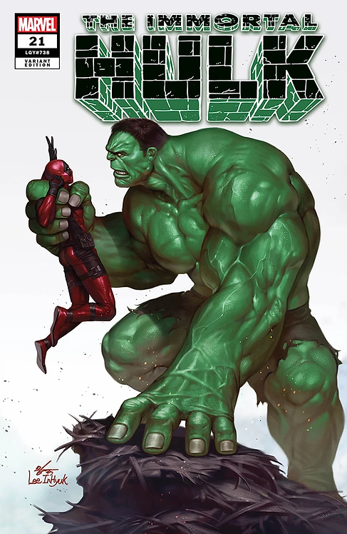 IMMORTAL HULK #21 INHYUK LEE EXCLUSIVE VARIANT