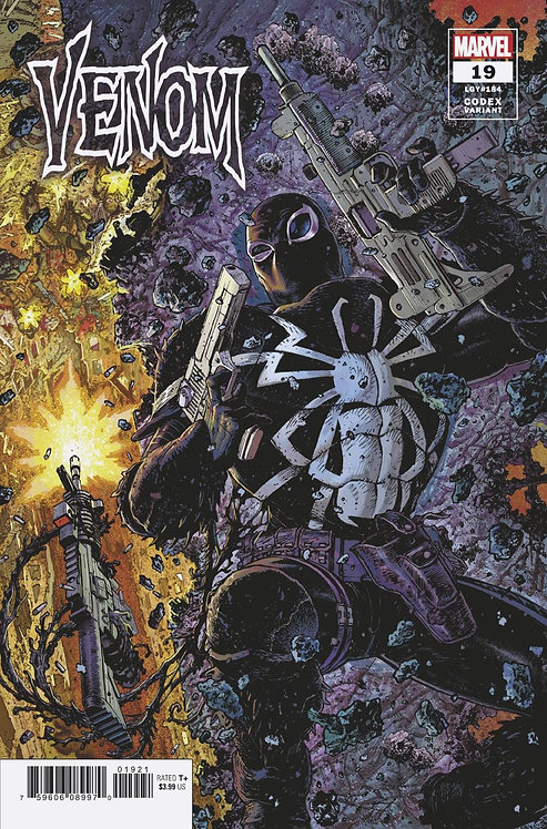 VENOM VOL 4 #19 TONY MOORE 1:25 CODEX VARIANT