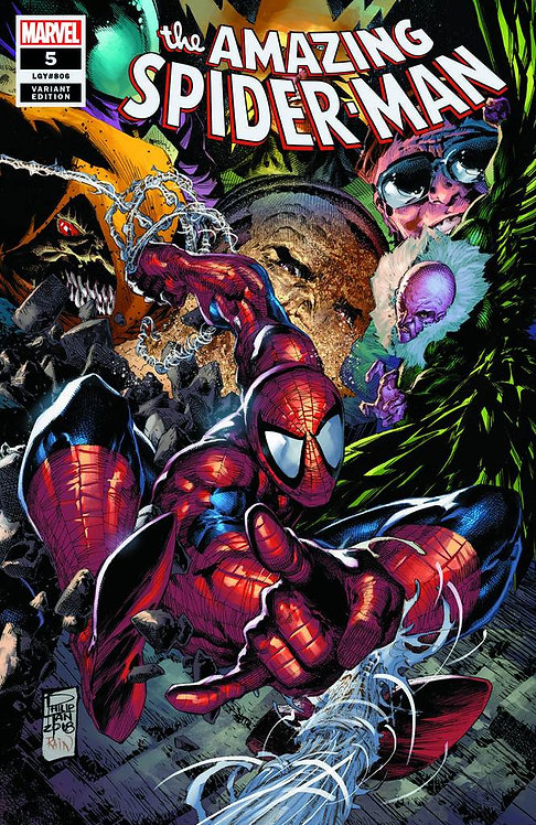 AMAZING SPIDER-MAN #5 PHILIP TAN VARIANT