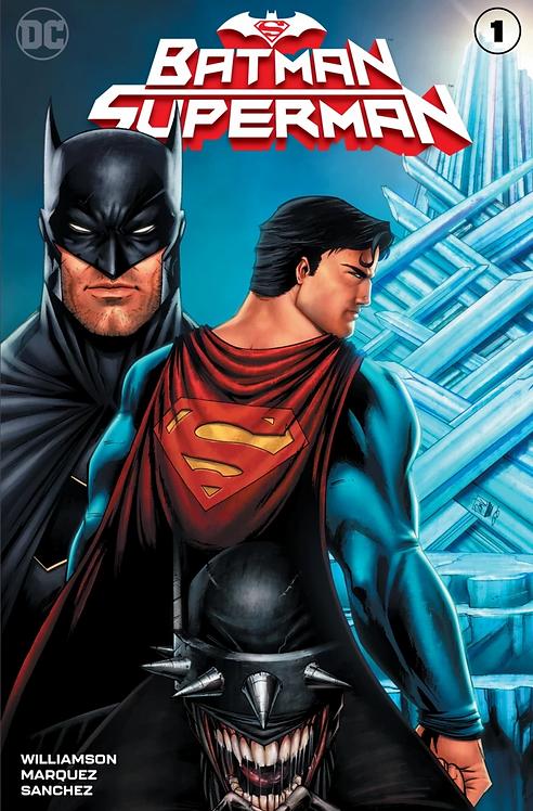 BATMAN SUPERMAN #1 RYAN KINCAID SUPERMAN VARIANT LIMITED TO 3000