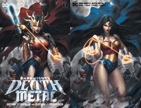 DARK NIGHTS: DEATH METAL #2 KUNKKA (07/15/2020) A & B SET