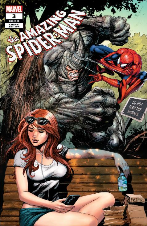 AMAZING SPIDER-MAN #3 TYLER KIRKHAM VARIANT