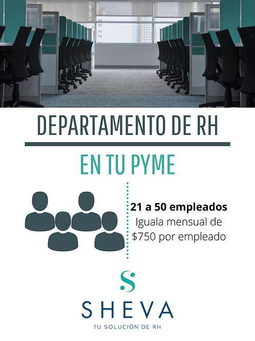 RH para 21 a 50 empleados