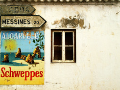 Advertising Poster on Building
