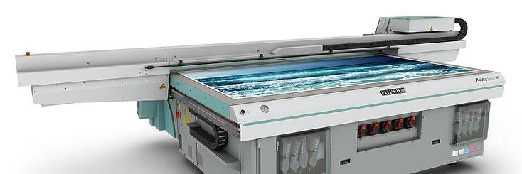 Velkoplošná UV tiskárna