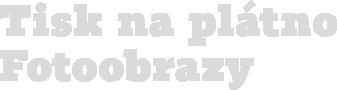 Tisk na plátno a fotoobrazy, Brno