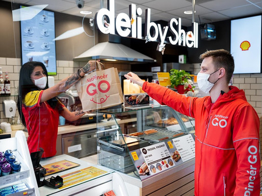 Innovate food delivery during the pandemic