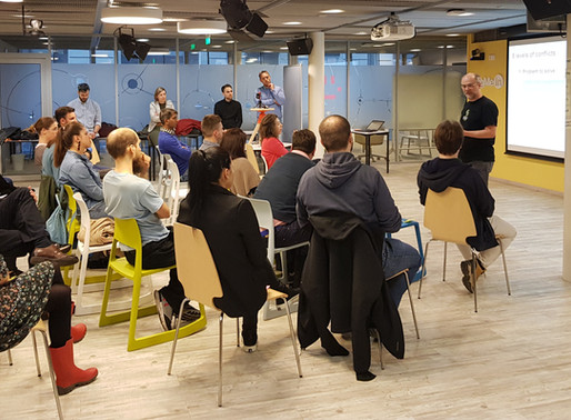 Meetup - Why conflict is good in an agile organization?
