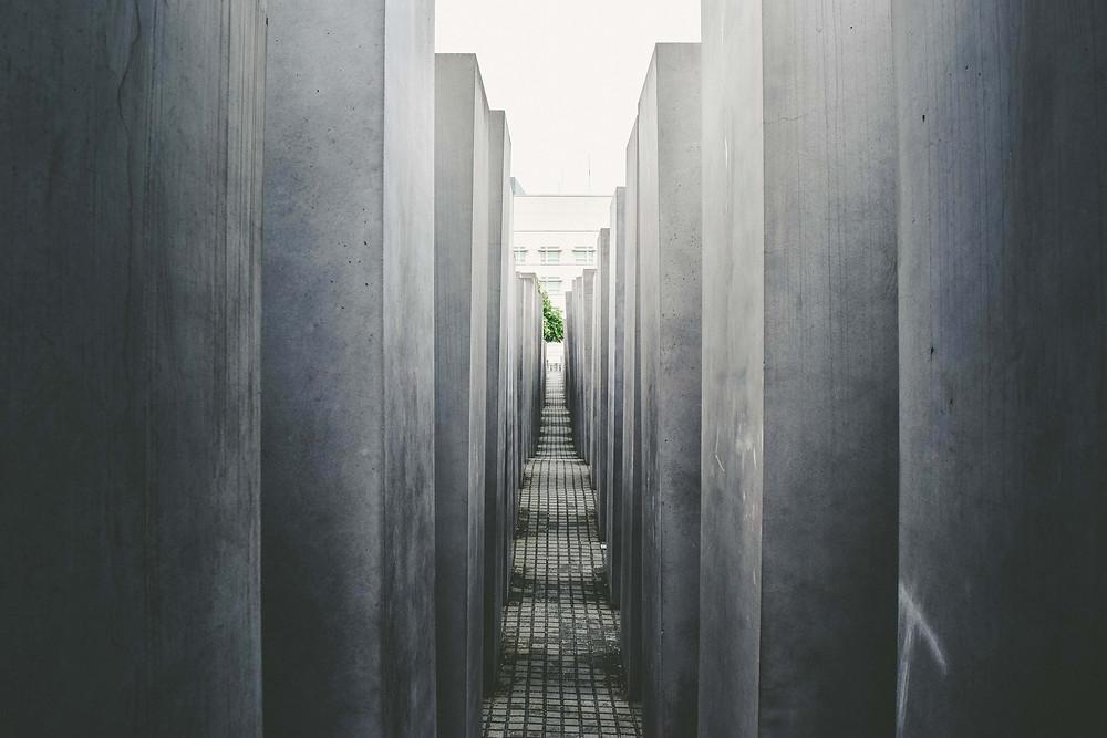 vedere Berlino: memoriale dell'olocausto