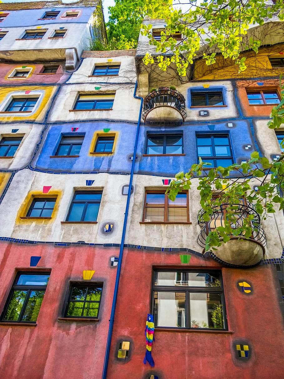Le case di Hundertwasser