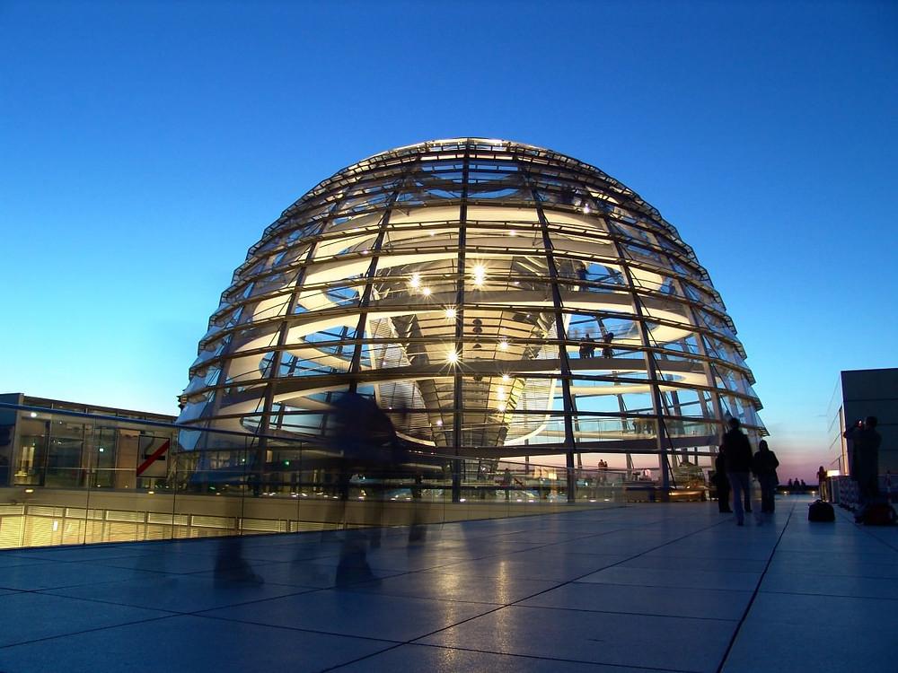 visitare Berlino: Reichstag/Bundestag