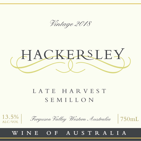 Hackersley Late Harvest Semillon