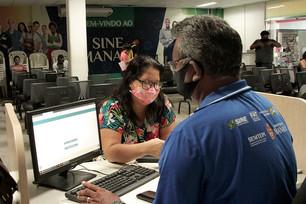 Sine Manaus oferta 90 vagas de emprego nesta segunda-feira