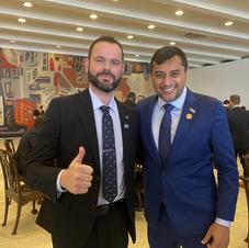 Em reunião com Wilson Lima, secretário nacional da Pesca agradece parceria do Estado