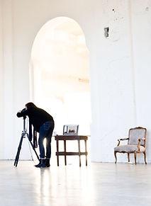 Fotógrafo no trabalho
