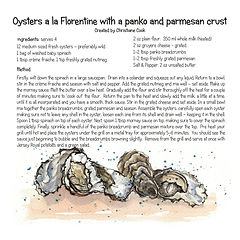 Oysters a la Florentine