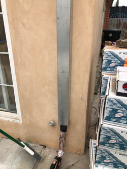 Line Set Cover Installation