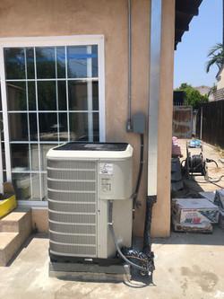 Condenser Complete Installation