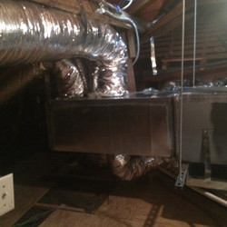Free Space Supply Duct Work