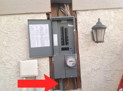 Upgraded New Main Meter Panel