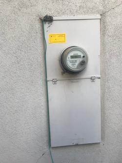 Existing Main Meter Panel