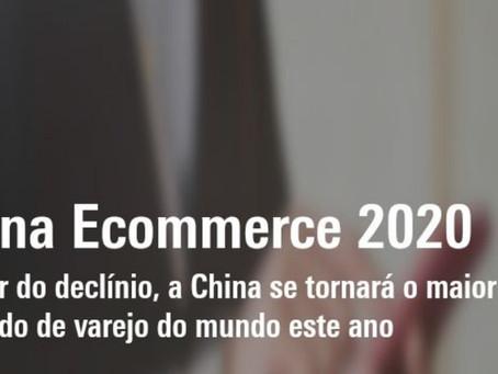 2020 - China se tornará o maior mercado varejo do mundo.