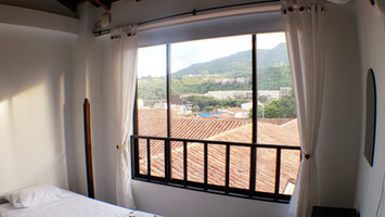 view from apartiment in san gil