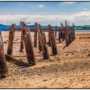 Pier at Fahan Beach