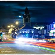 Portglenone Main Street at Night