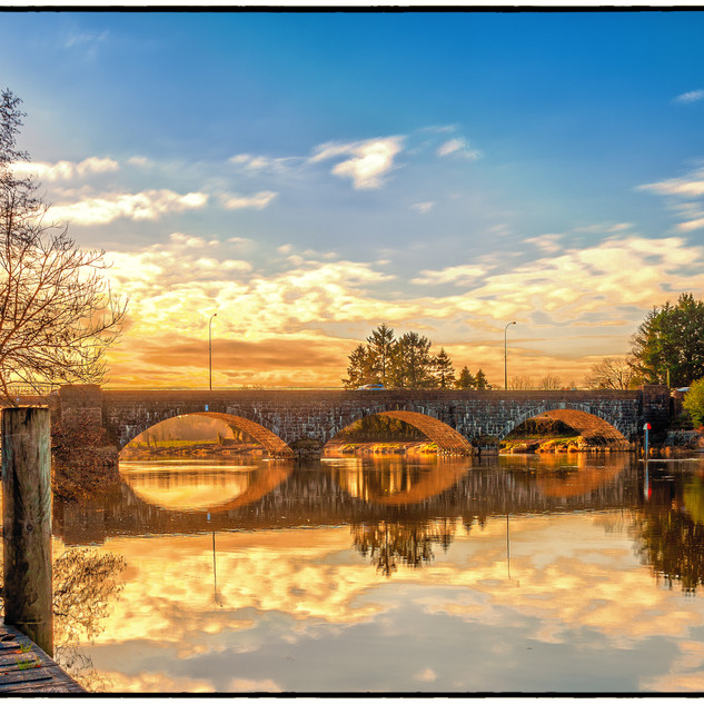 Portglenone-Bridge-Sunrise
