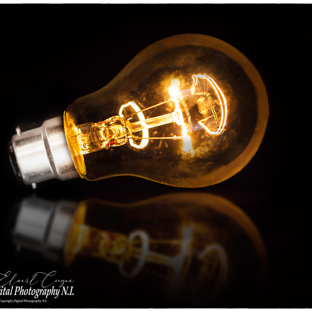 Lit Lightbulb