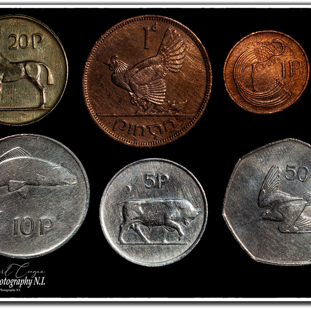 Old Irish Currency