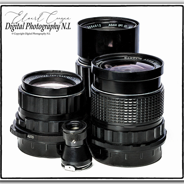 Pentax 6x7 Medium Format Lenses